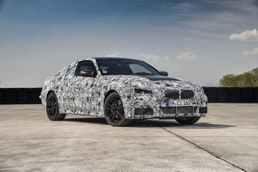 BMW 4 Series Prototype 44 830x553