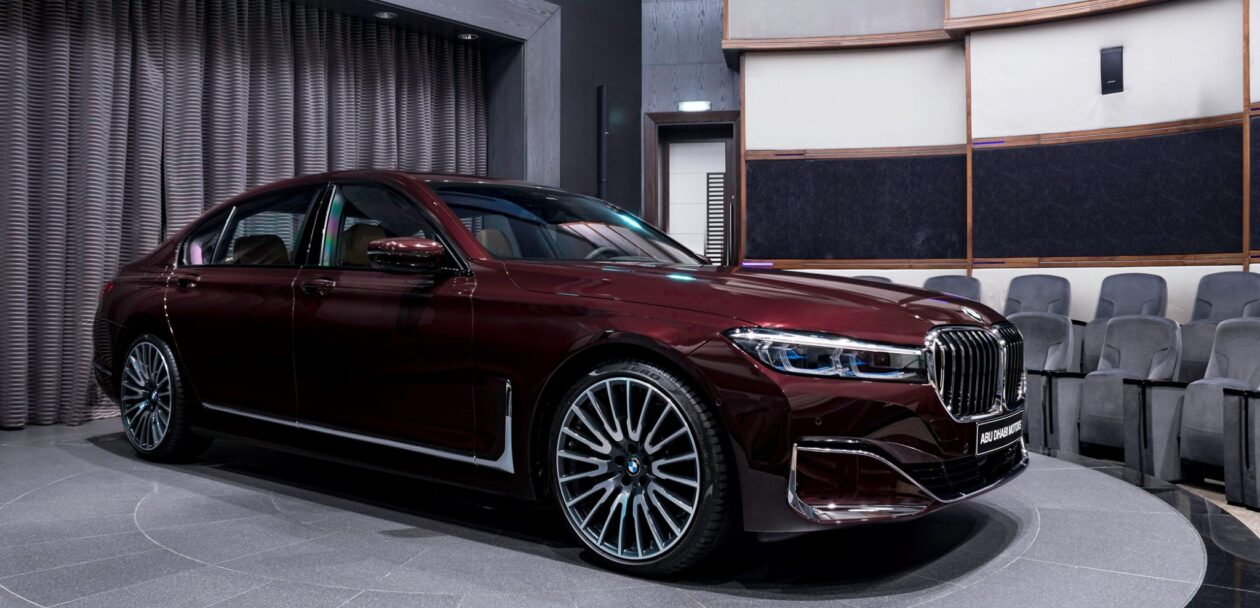 BMW 750Li xDrive in Royal Burgundy Red 1 1260x608