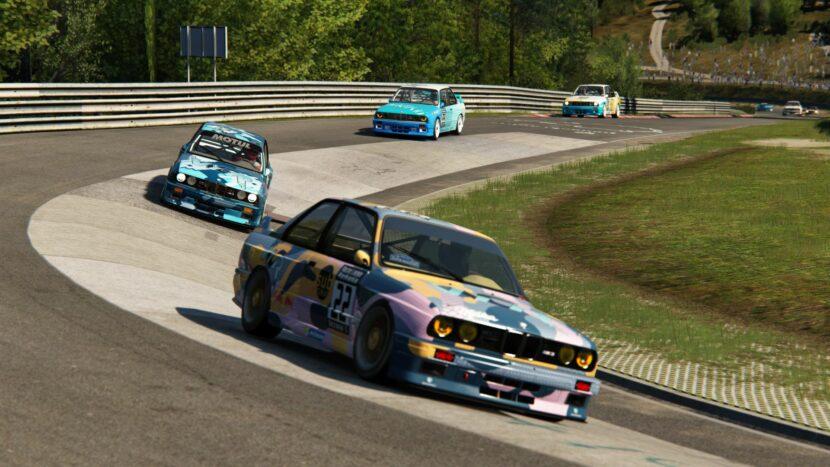 BMW E30 M3 DTM Sim Racing 10 830x467