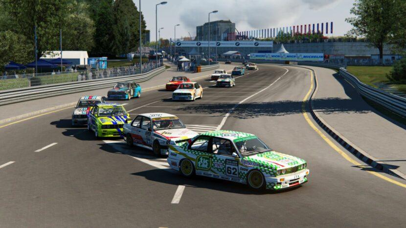 BMW E30 M3 DTM Sim Racing 3 830x467