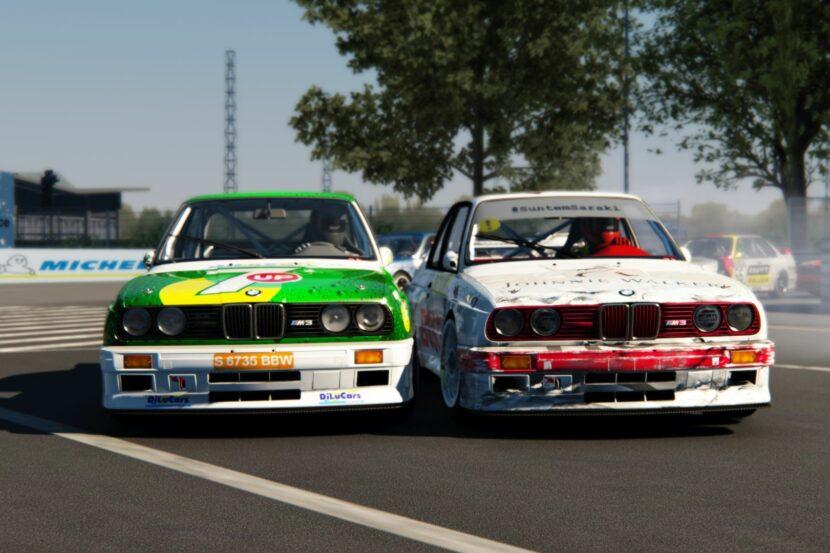 BMW E30 M3 DTM Sim Racing 6 830x553