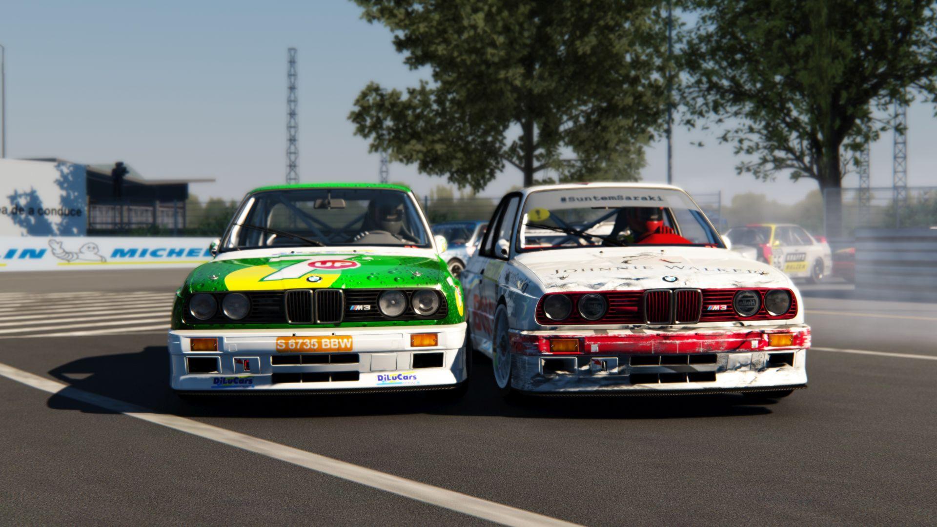 BMW E30 M3 DTM Sim Racing 6