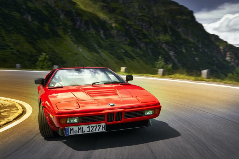 BMW M1 red supercar 01 830x553