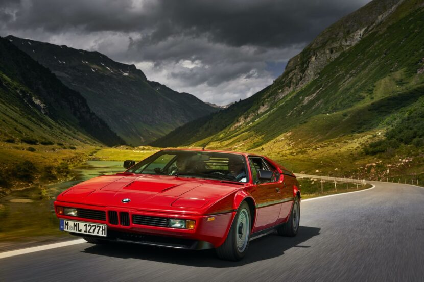 BMW M1 red supercar 10 830x553