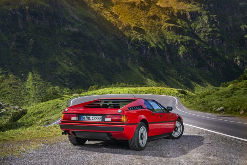 BMW M1 red supercar 16 830x554