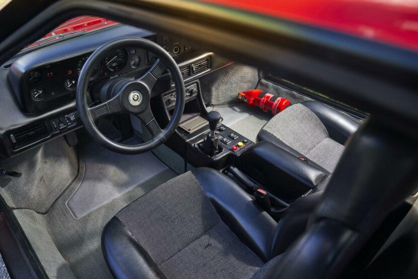 BMW M1 red supercar 19 830x553