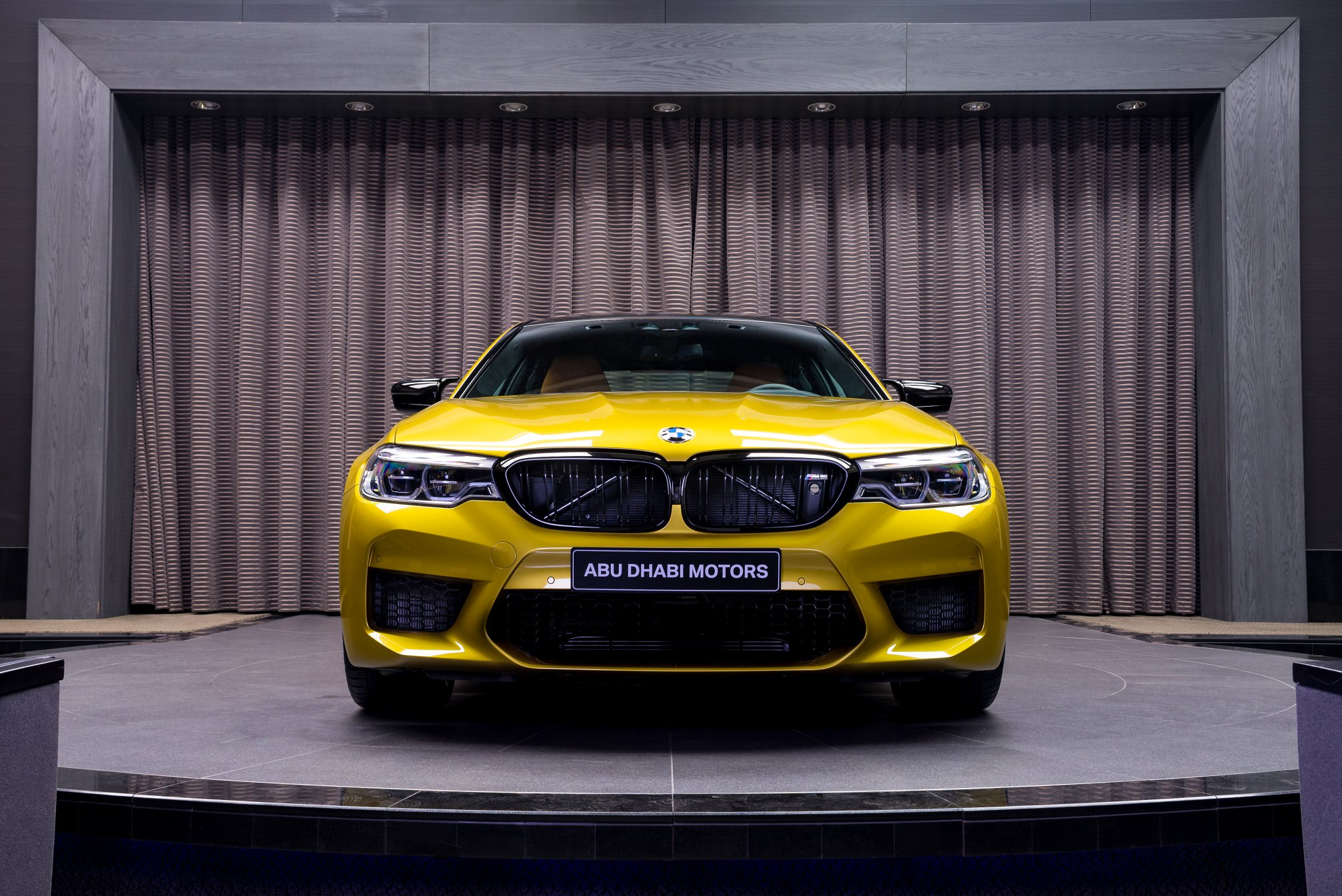 Bmw M5 Competition Individual Featured In Austin Yellow Metallic Pistonleaks