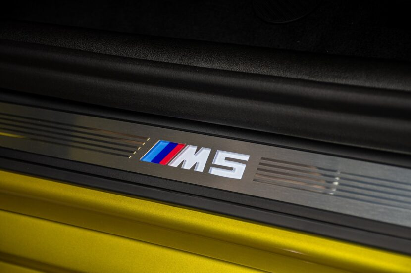 BMW M5 Competition Individual F90 in Austin Yellow metallic 19 830x553