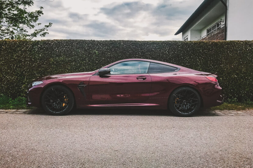 BMW M8 Coupe Aventurine Red II 5 830x553