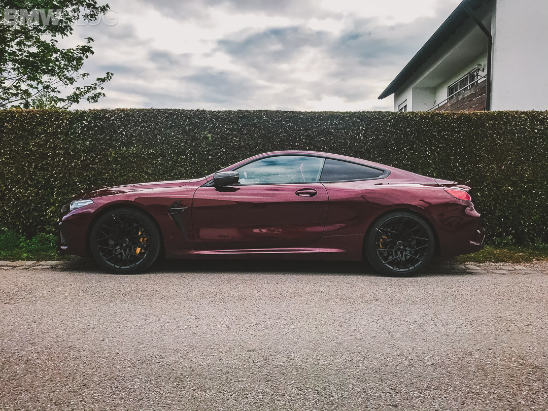 BMW M8 Coupe Aventurine Red II 5