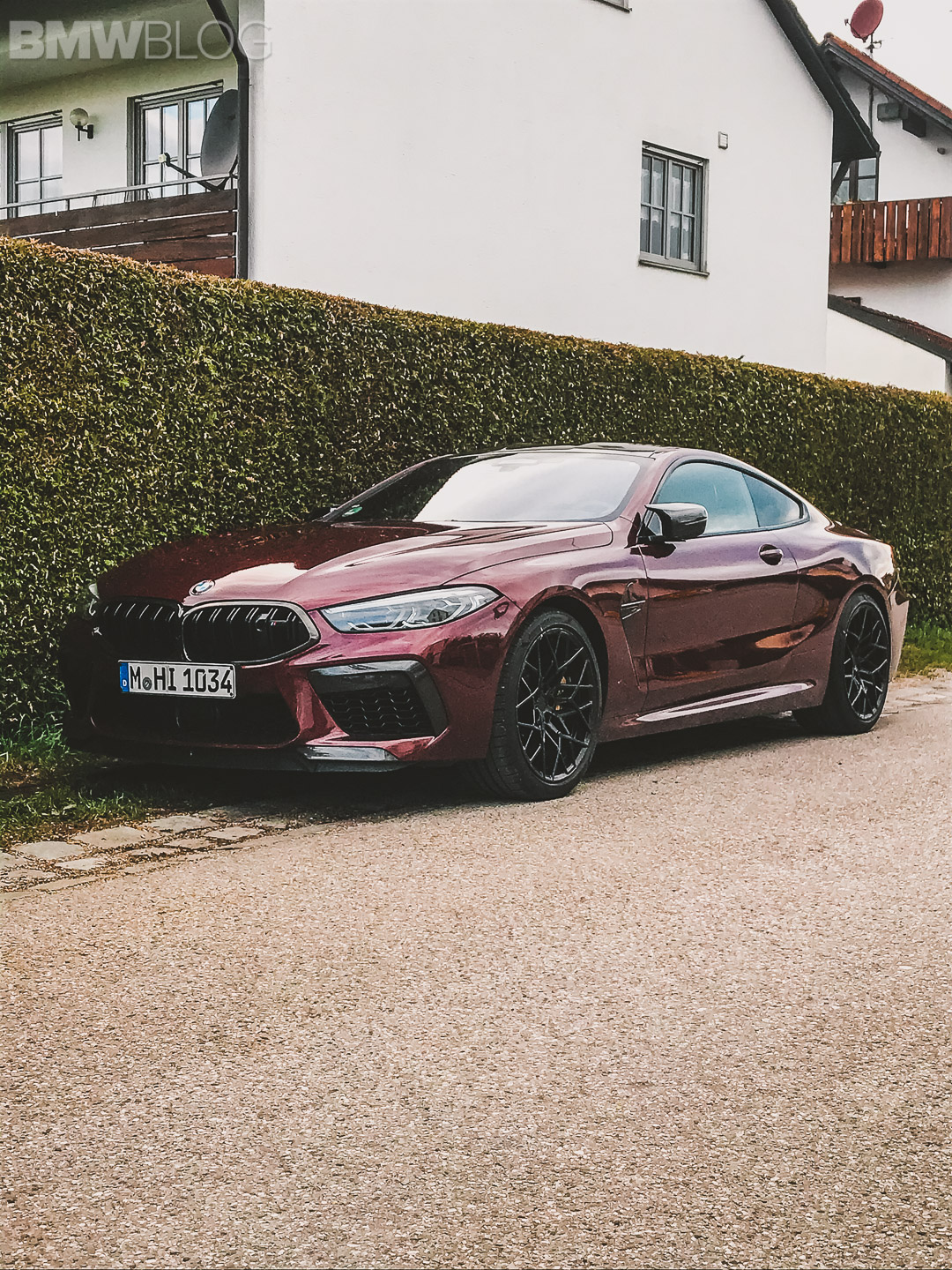 BMW M8 Coupe Aventurine Red II 8