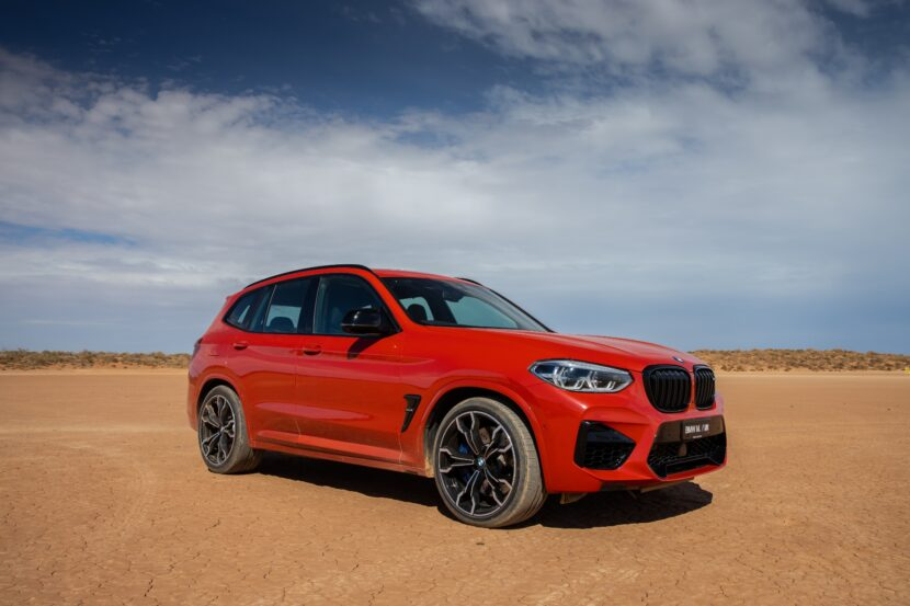 BMW X3 M Competition F97 Australia 830x553