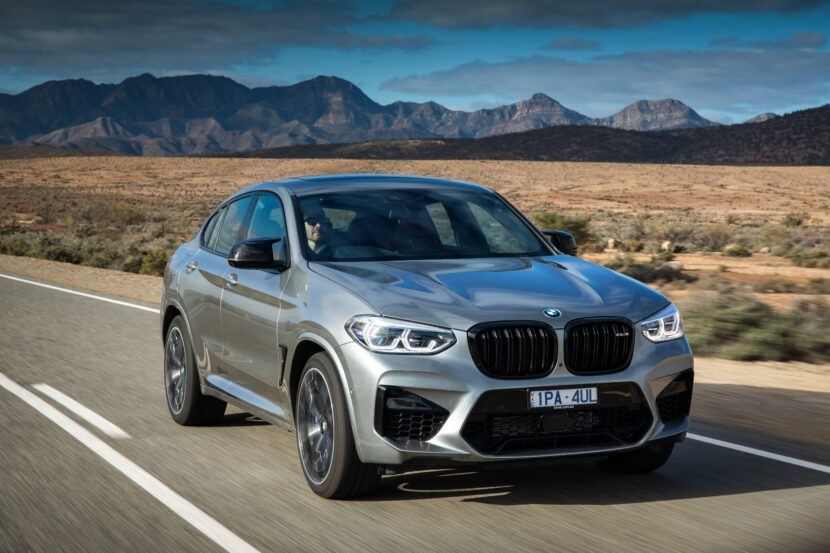 BMW X4 M Competition F98 Australia 830x553
