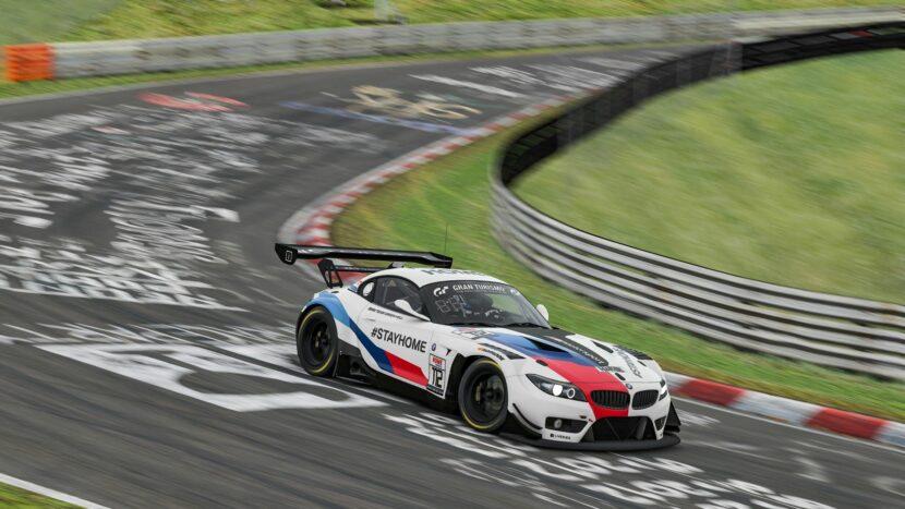 BMW Z4 GT3 sim racing 2 830x467
