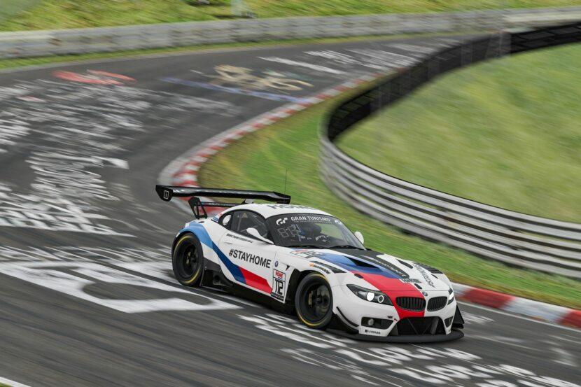 BMW Z4 GT3 sim racing 2 830x553
