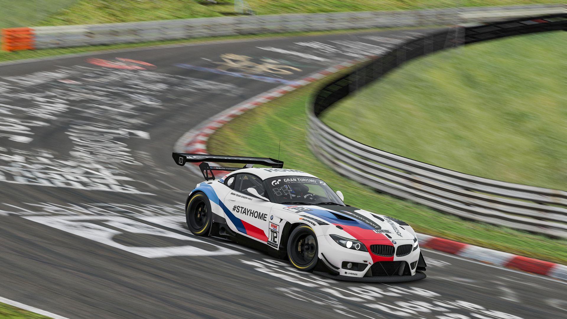 BMW Z4 GT3 sim racing 2