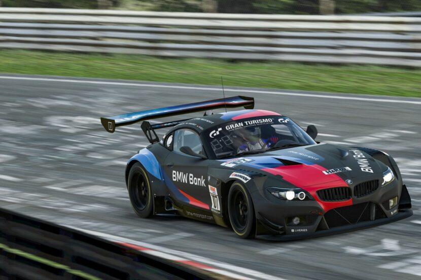 BMW Z4 GT3 sim racing 4 830x553