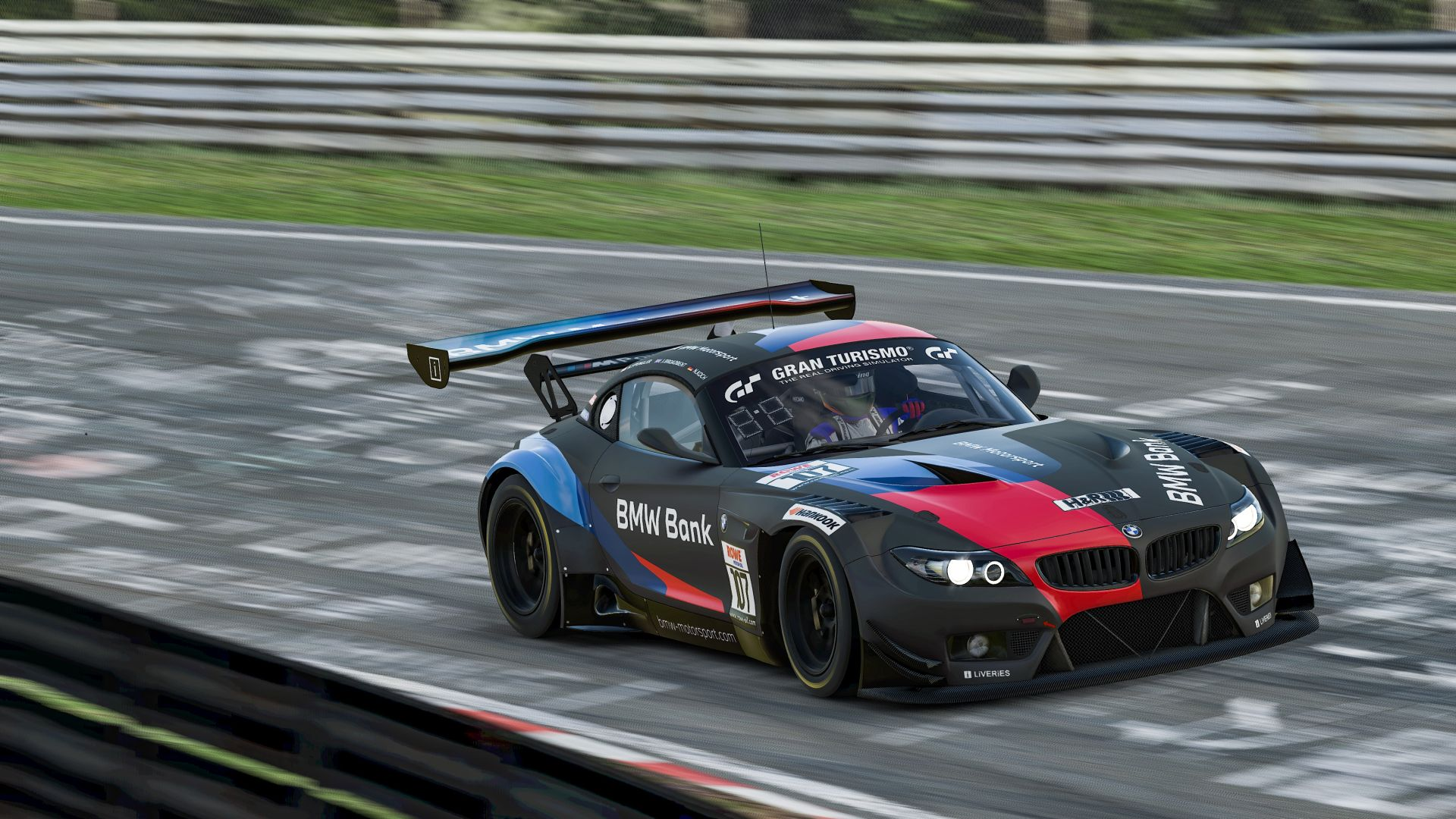 BMW Z4 GT3 sim racing 4