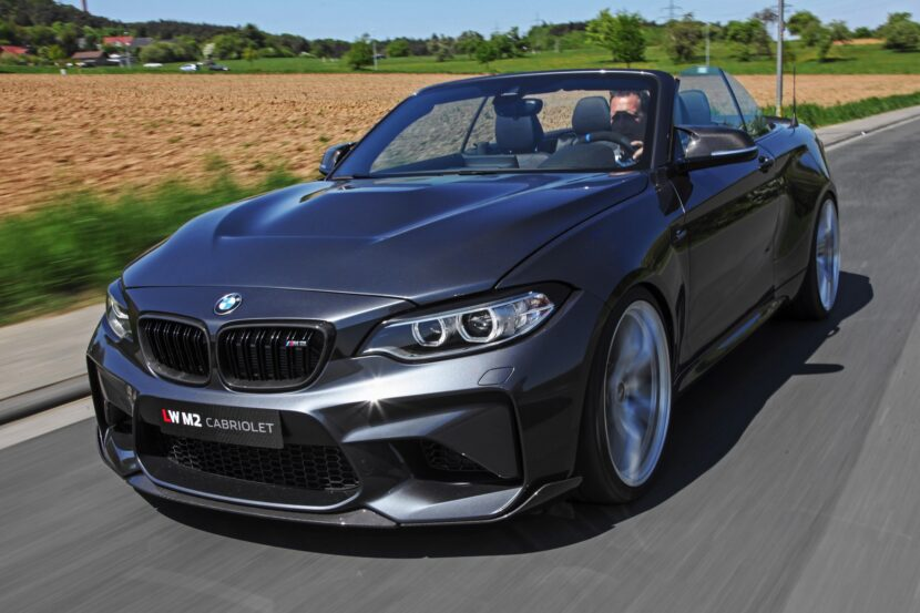 Lightweight BMW M2 Convertible 1 830x553