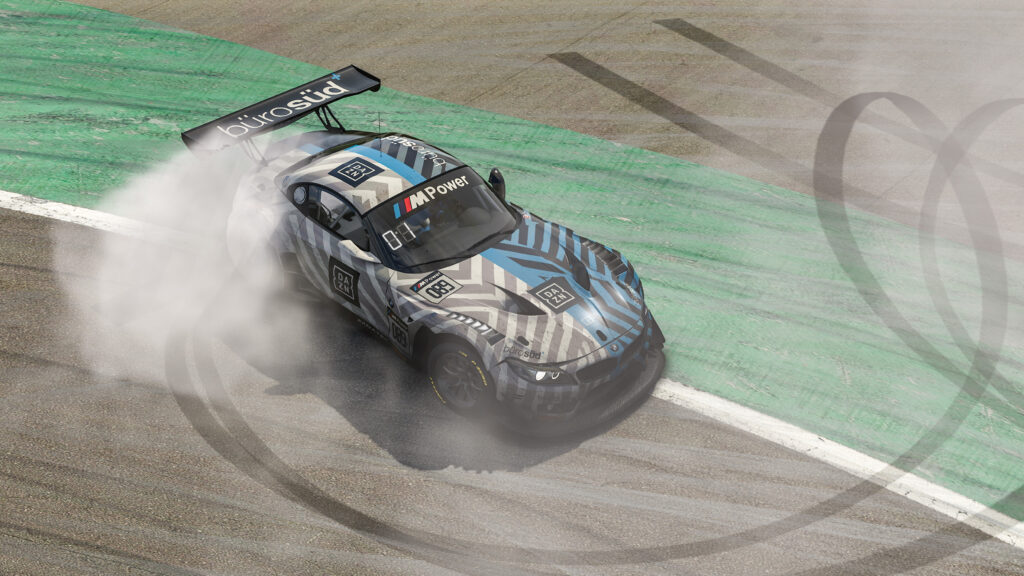 Philipp Eng and the BMW Z4 GT3 win 24-Hour Nurburgring sim-race