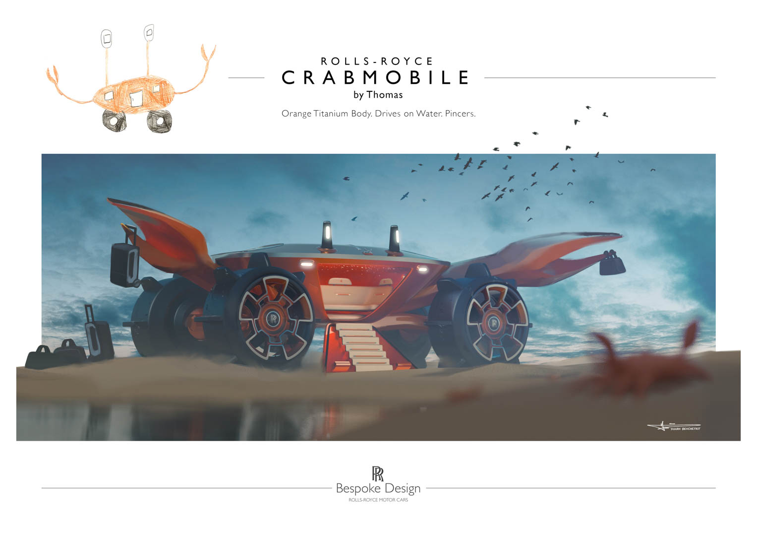 Rolls Royce Young Designer Competition 1