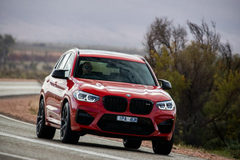 The All New BMW X3 M Competition AU Model 1 830x553
