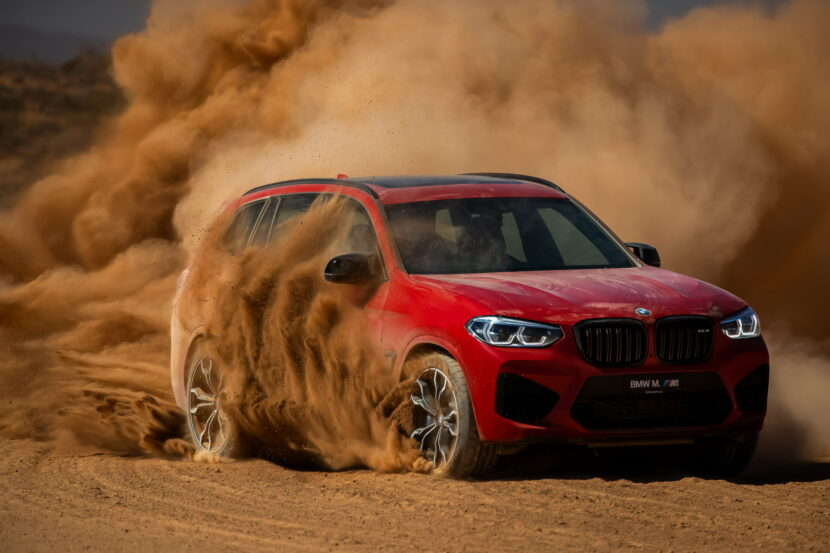 The All New BMW X3 M Competition AU Model 13 830x553