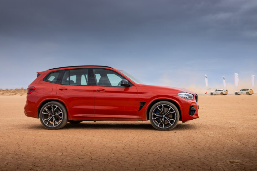 The All New BMW X3 M Competition AU Model 15 830x553