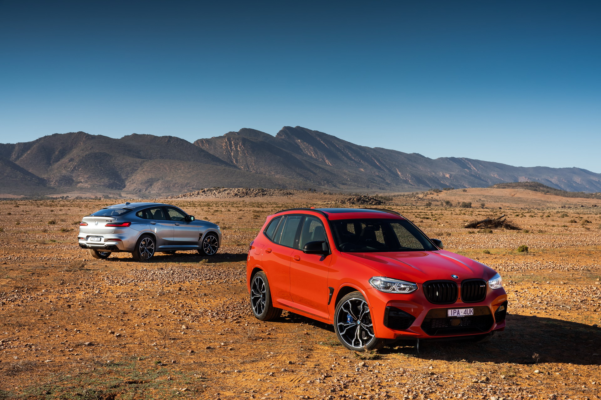 The All New BMW X3 M X4 M Competition AU Models