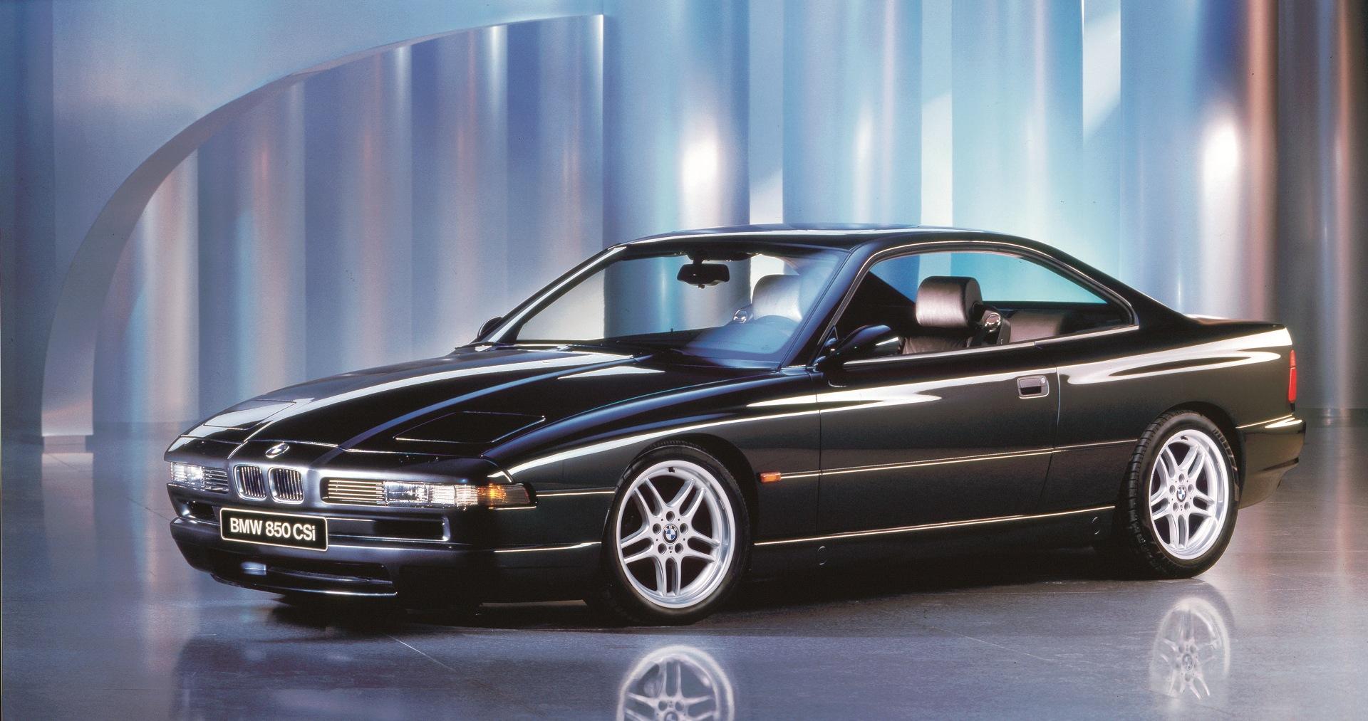 The BMW 850CSi E31 6