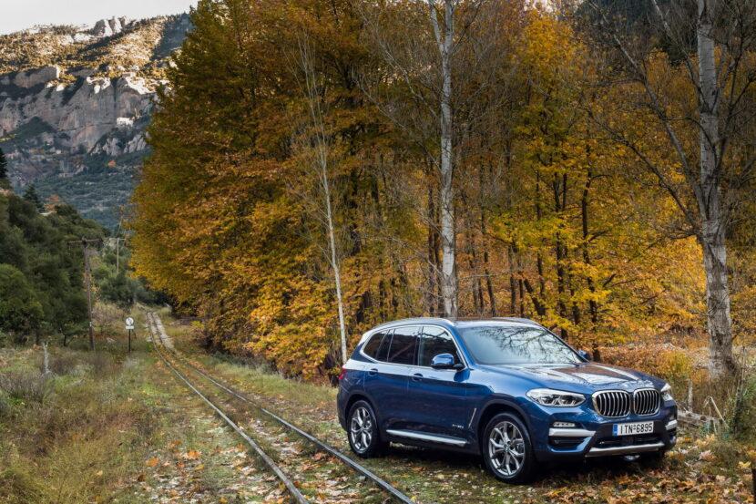The BMW X3 xDrive20d xLine Greek market launch 1 830x553