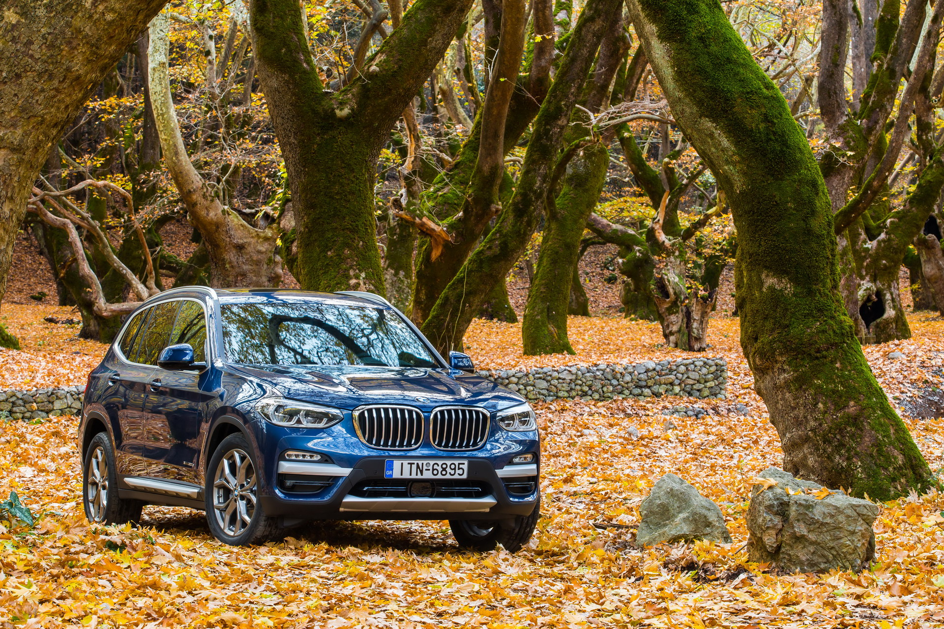 The BMW X3 xDrive20d xLine Greek market launch 14