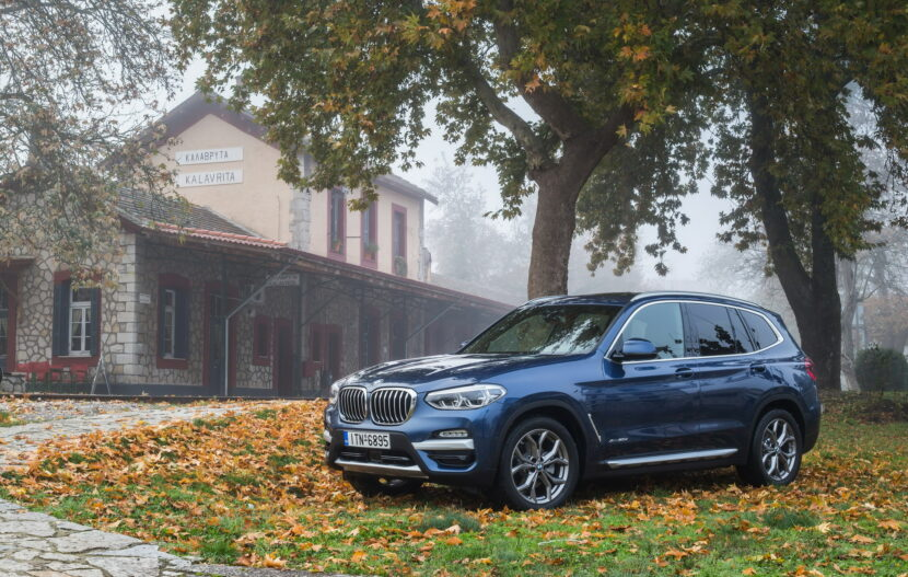 The BMW X3 xDrive20d xLine Greek market launch 2 830x527