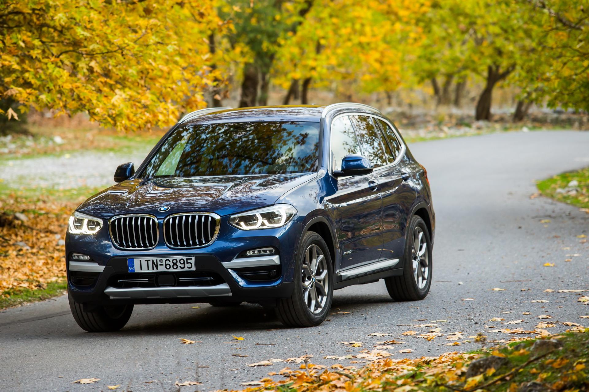 The BMW X3 xDrive20d xLine Greek market launch 31
