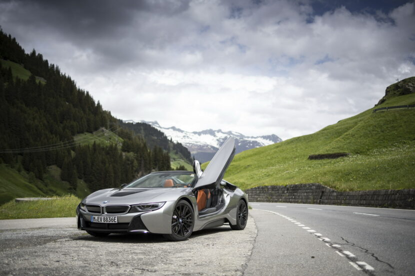 The BMW i8 Roadster I15 121 830x553