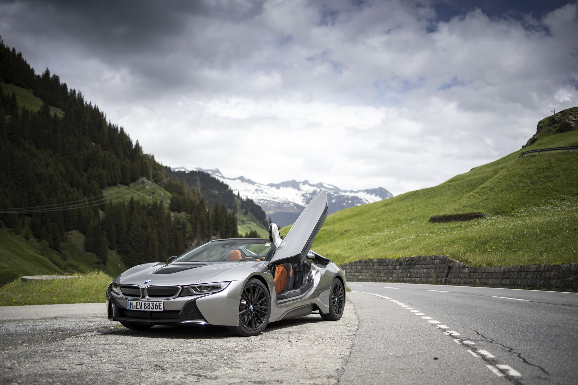 The BMW i8 Roadster I15 121