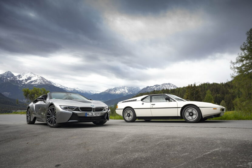 The BMW i8 Roadster I15 170 830x553