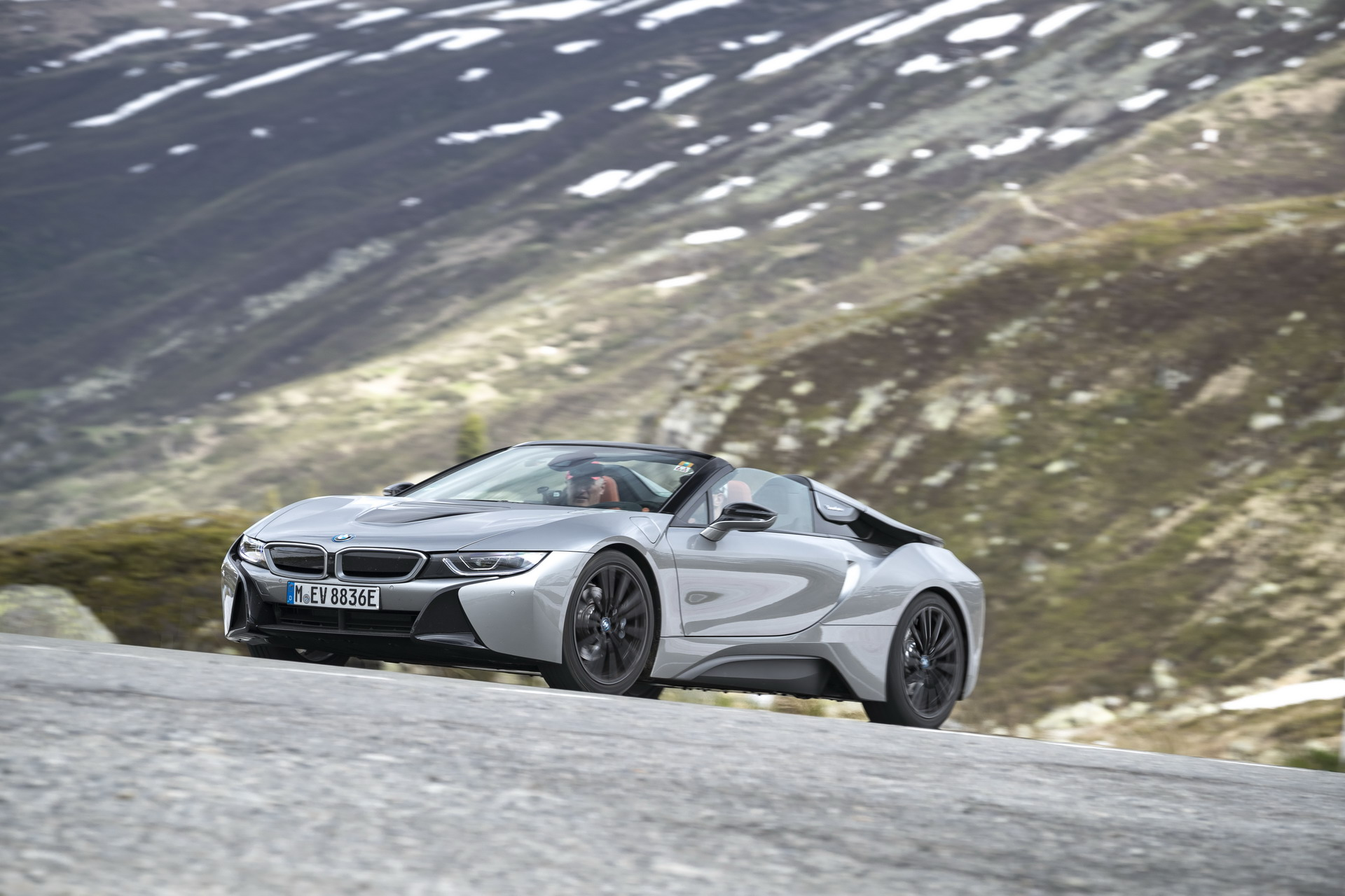 The BMW i8 Roadster I15 182