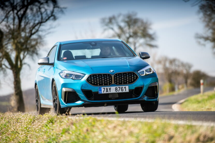 Video: BMW 2 Series Gran Coupe meets Black Widow in new promo clip