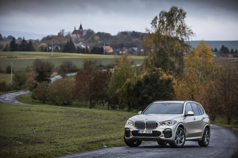 The new BMW X5 xDrive30d Czech market debut 115 830x553