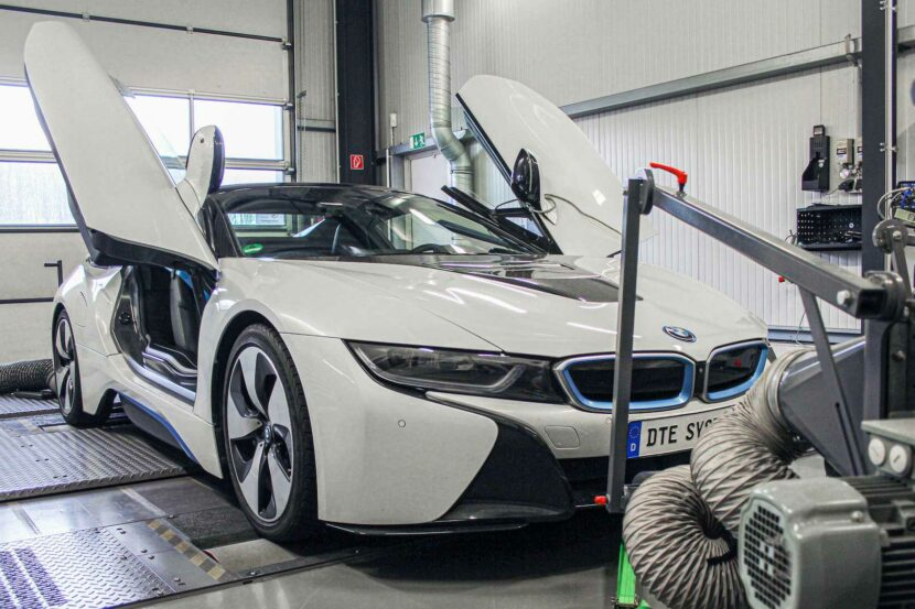 bmw i8 tuned by dte systems5 830x553