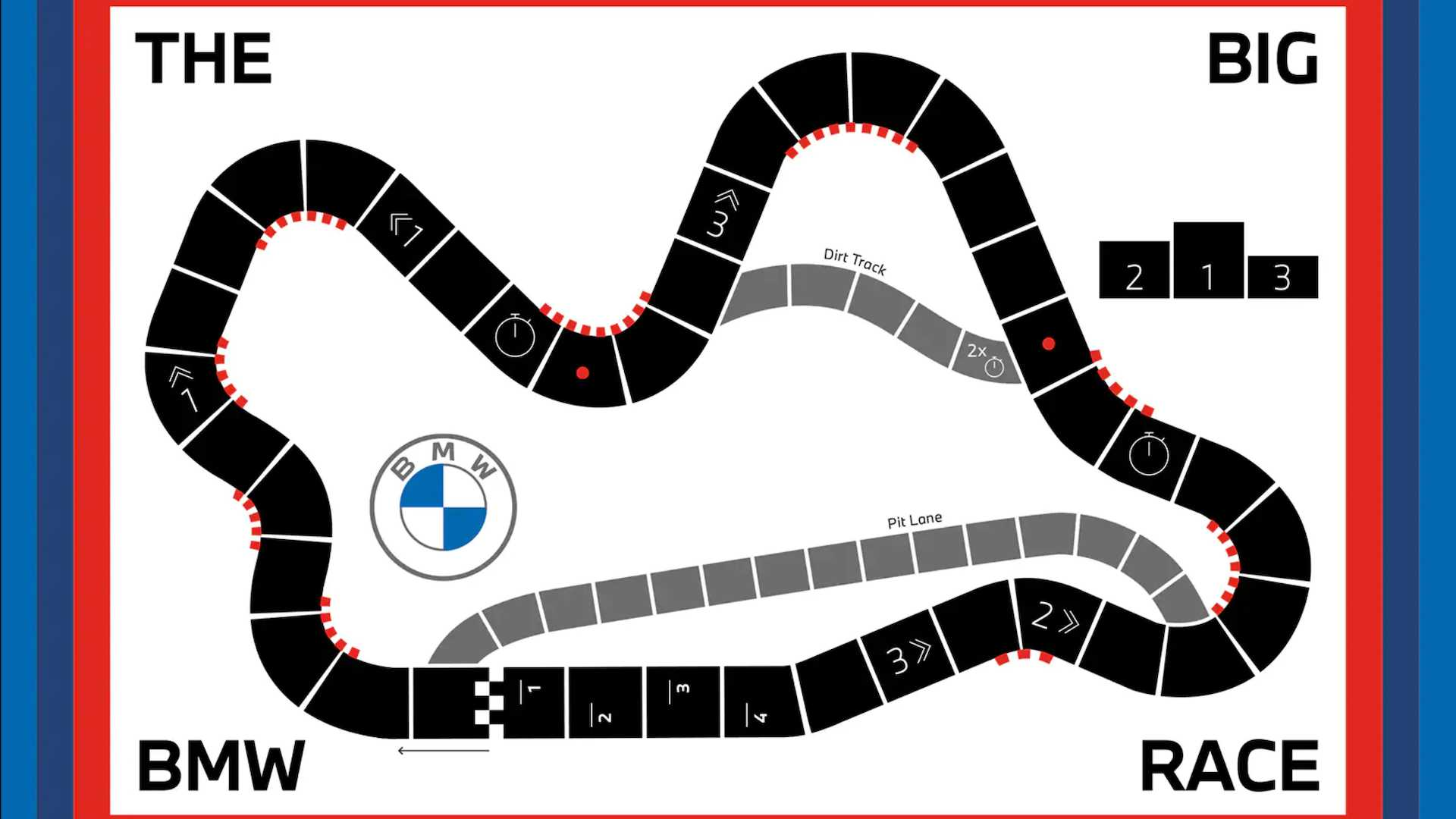 bmw themed board games