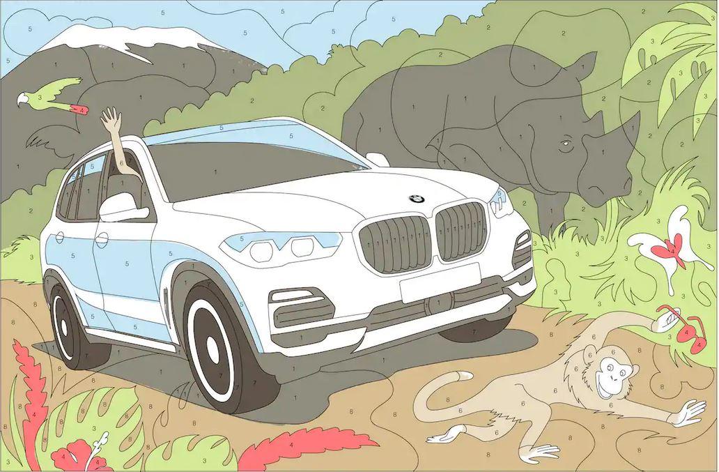√ Ausmalbilder Autos Bmw I8 | Ausmalbilder BMW i8 | 677x1032