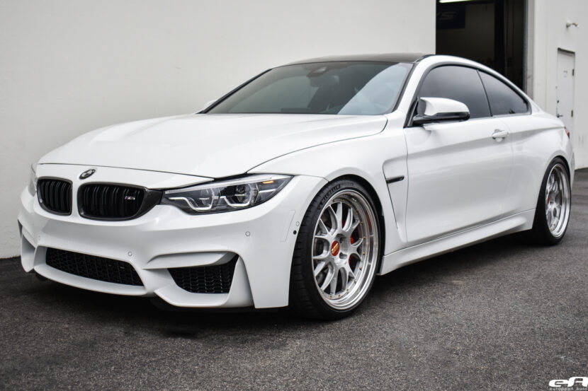2020 Alpine White BMW F82 M4 By European Auto Source Image 27 830x553