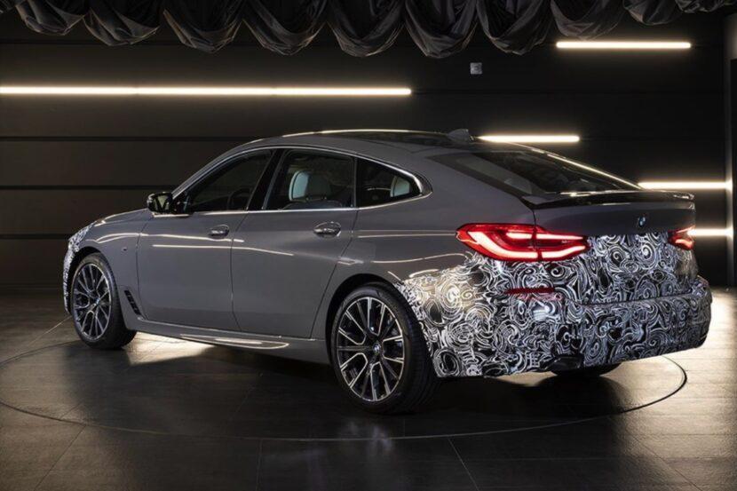 2020 BMW 6er GT Facelift G32 LCI Teaser 01 830x553