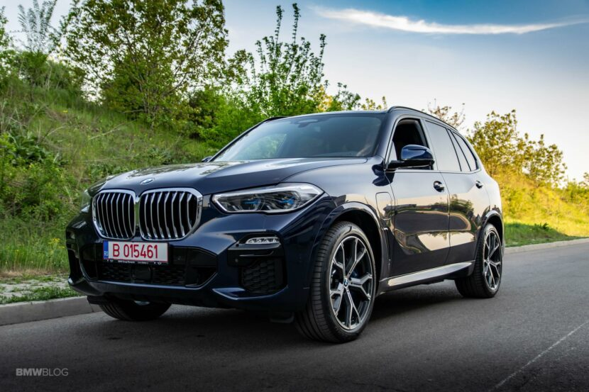 2020 BMW X5 xDrive45e Review 39 830x553