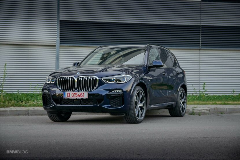 2020 BMW X5 xDrive45e Review 43 830x553