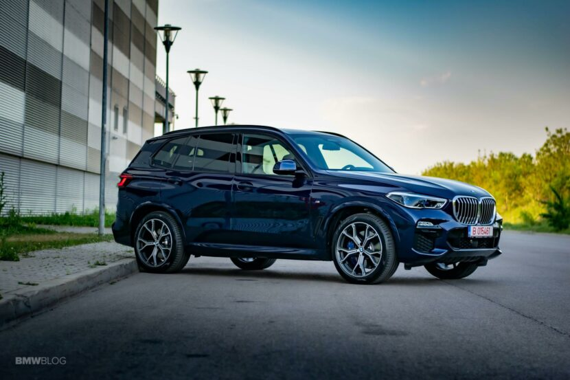 2020 BMW X5 xDrive45e Review 47 830x553