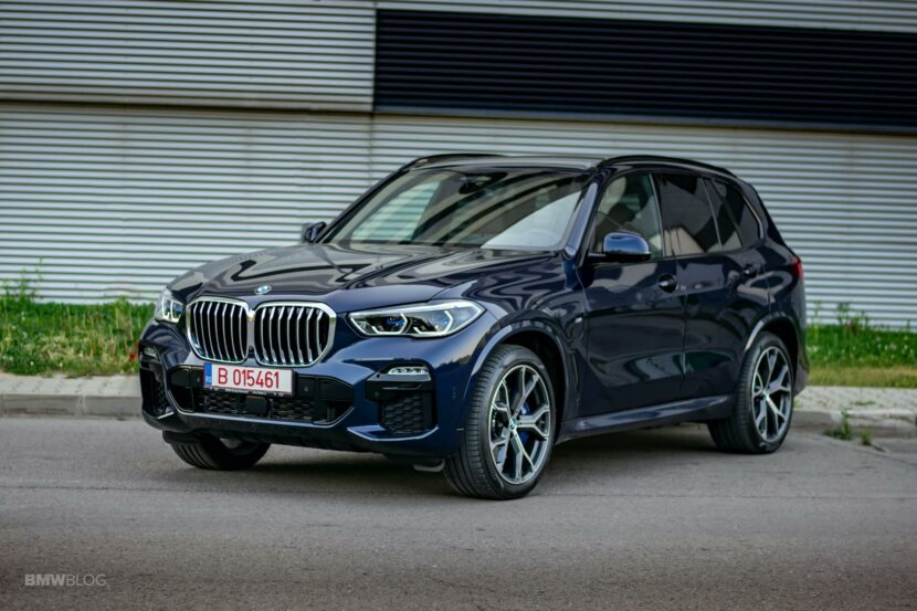 2020 BMW X5 xDrive45e Review 50 830x553