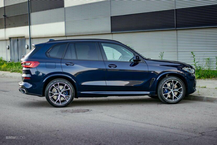 2020 BMW X5 xDrive45e Review 58 830x553